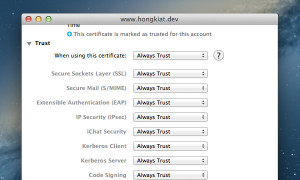 ssl-always-trust