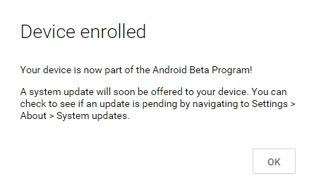 Android-Beta-Program-enroll