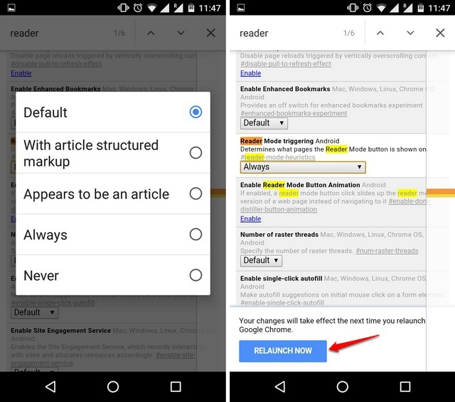 Chrome-Flags-Android-enable-Reader-Mode