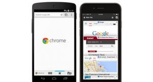 Chrome pour iOS et Android