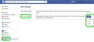 Facebook-Web-Video-settings