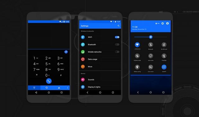 Flux-CyanogenMod-theme