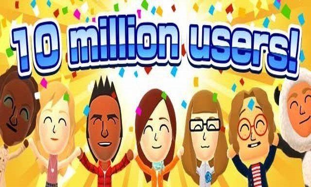 Miitomo compte plus de 10 millions de joueurs dans le monde