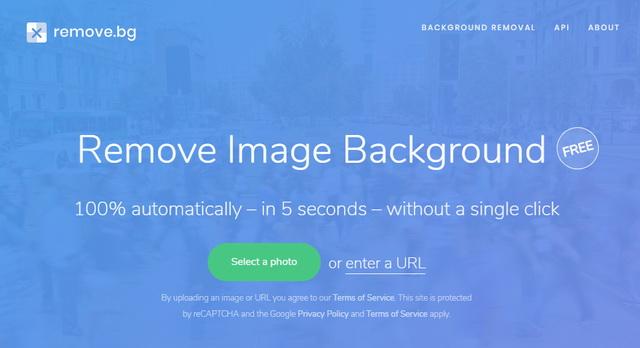 Site web remove-bg