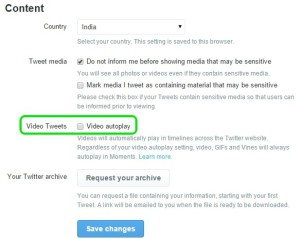 Twitter-Video-settings