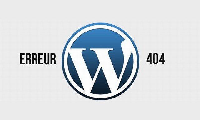WordPress erreur 404 Pages - conseils essentiels et outils