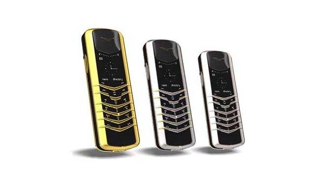 Les smartphones de luxe Vertu en Inde