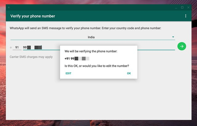 WhatsApp-number-verification