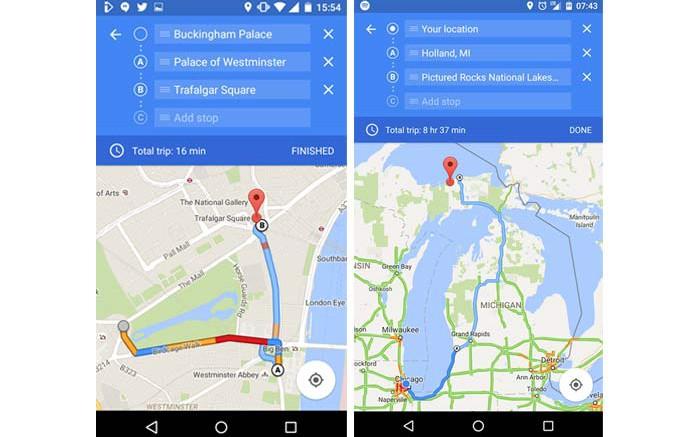 google-maps-multiple-destinations