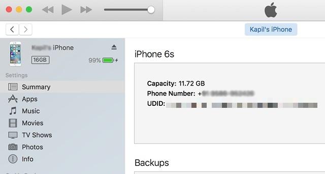 iPhone-UDID