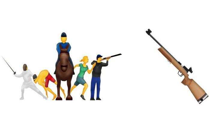 pentathlon-rifle-emojis