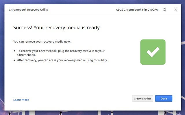 Chromebook-Recovery-Image-Ready