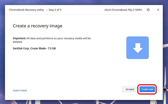 Create-Recovery-Image-Chromebook