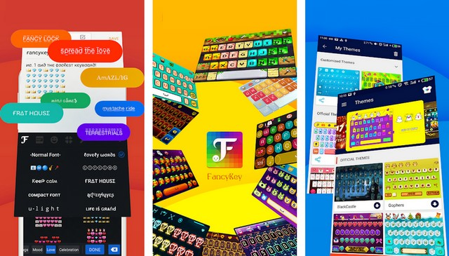 FancyKey - Meilleur clavier pour Android