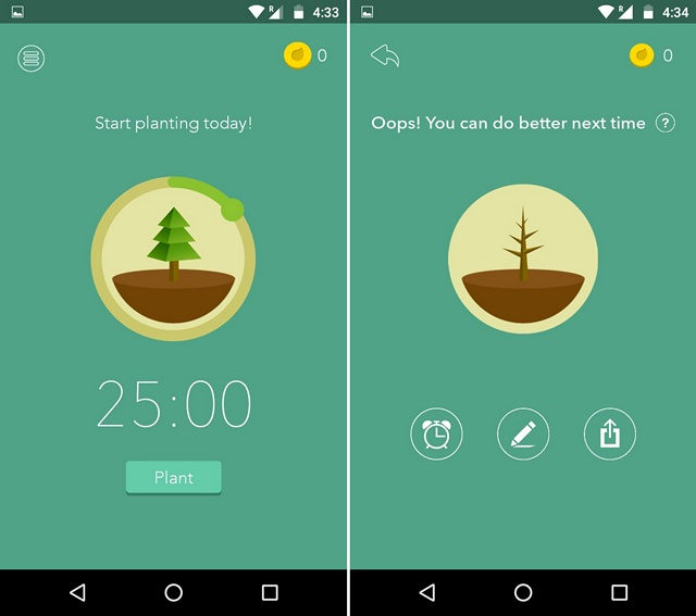 Forest-motivation-app
