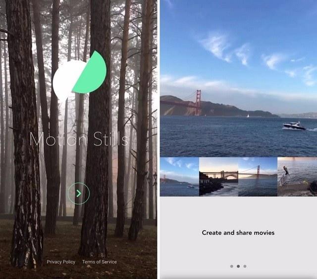 Motion-Stills-app-welcome