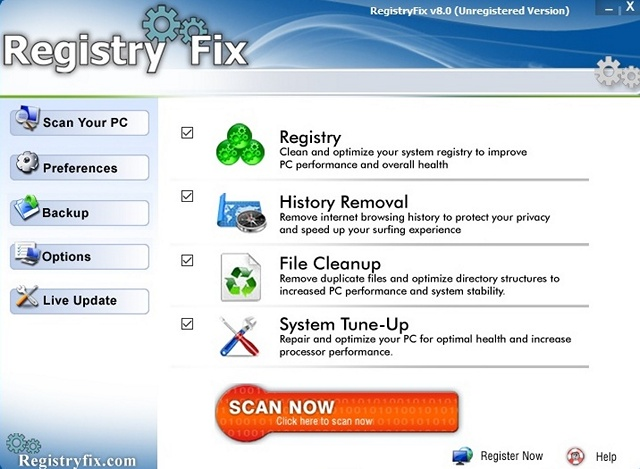 RegistryFix-DLL-Fixer-software