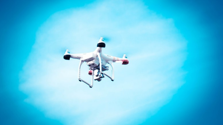 drone-in-the-sky