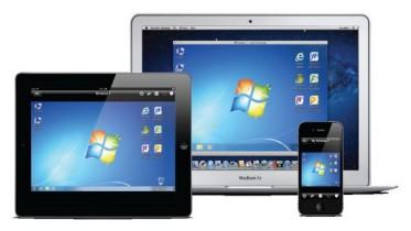 Applications de bureau à distance pour l'iPad
