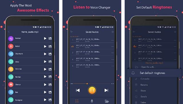 Changeur de voix par 302 Lock Screen