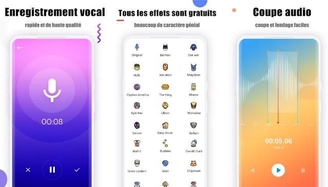 Changeur de voix par SoulApps Studio