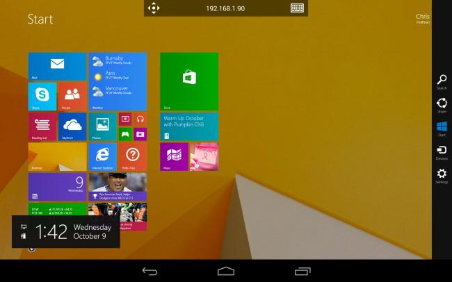 Comment accéder à un bureau Windows à partir de votre tablette ou téléphone 1