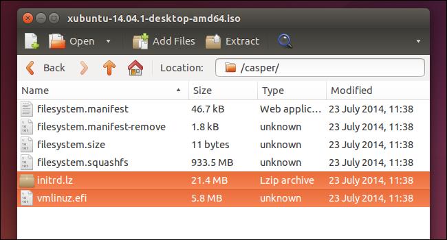 Comment démarrer Linux images ISO directement 1