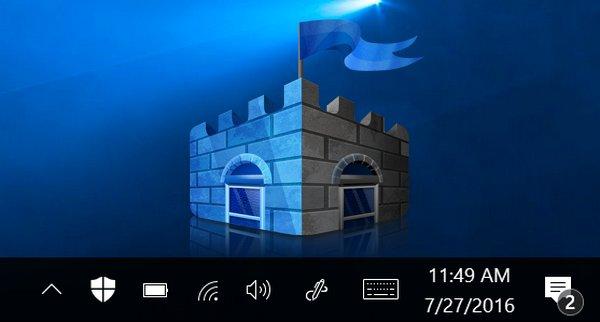 Comment faire pour supprimer l'icône Windows Defender
