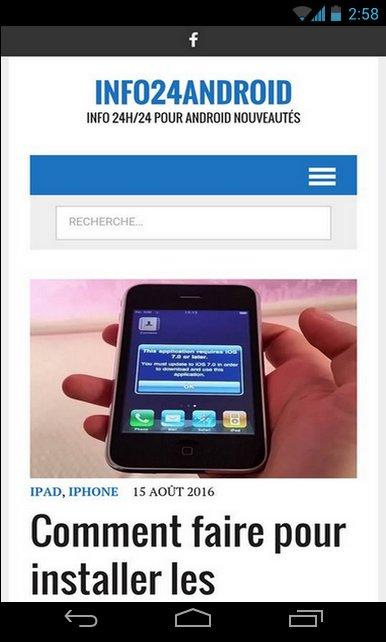 Comment faire pour utiliser Android Beam pour transférer sans fil 3