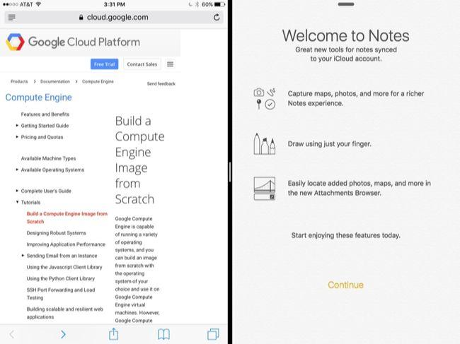 Comment faire pour utiliser les applications multiples en une seule fois sur un iPad 2