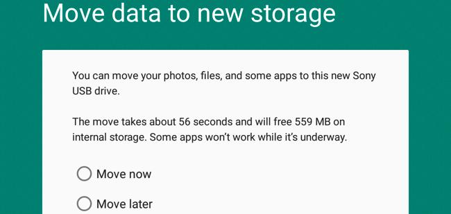 Comment mettre en place une nouvelle carte SD dans Android 3