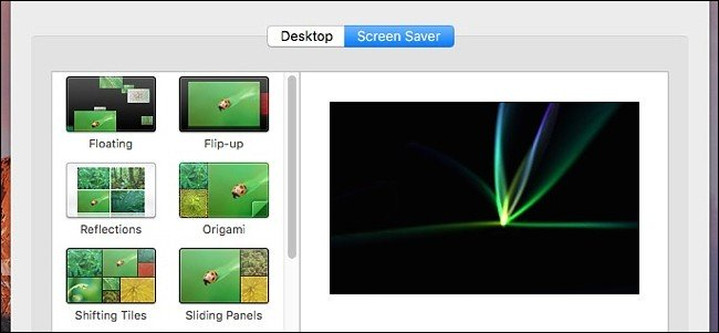 Comment réparer un économiseur d'écran Stuck in OS X 1