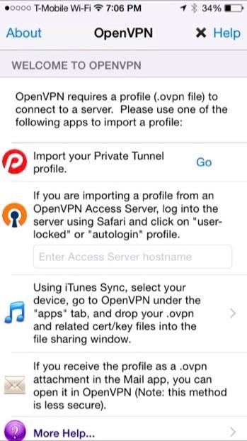 Comment se connecter à un réseau privé virtuel sur iPhone ou iPad 5
