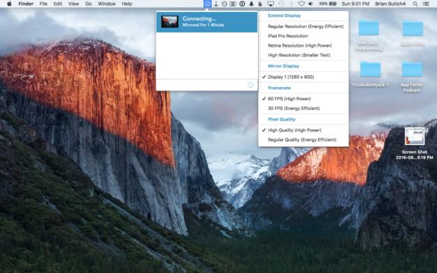 Comment utiliser votre iPad comme un deuxième écran pour votre Mac 3