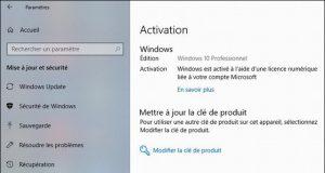 Comment utiliser votre licence gratuite Windows 10