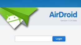 Controlez votre Android à partir d'un navigateur avec AirDroid 222