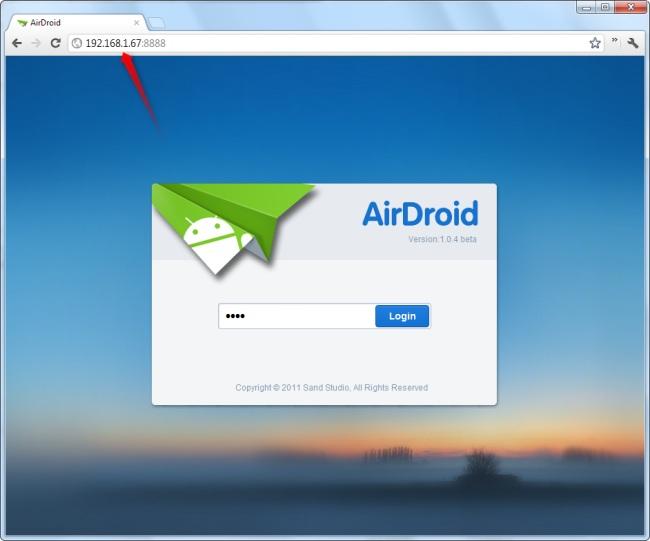Controlez votre Android à partir d'un navigateur avec AirDroid 3