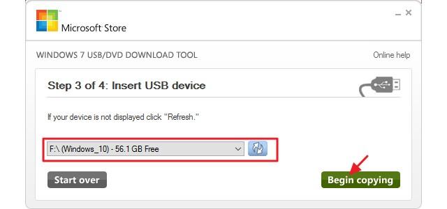 Créer une clé USB installation pour Windows 10