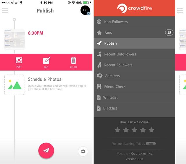 Crowdfire-app
