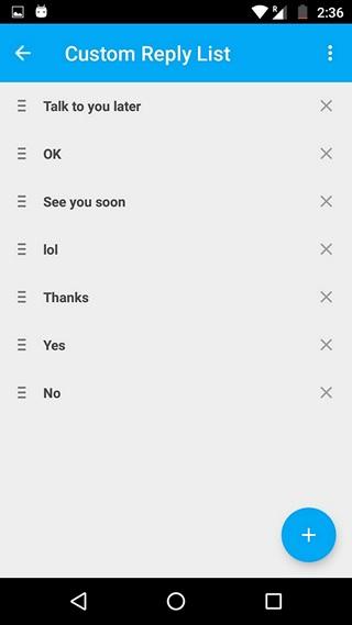 Fluenty-custom-replies
