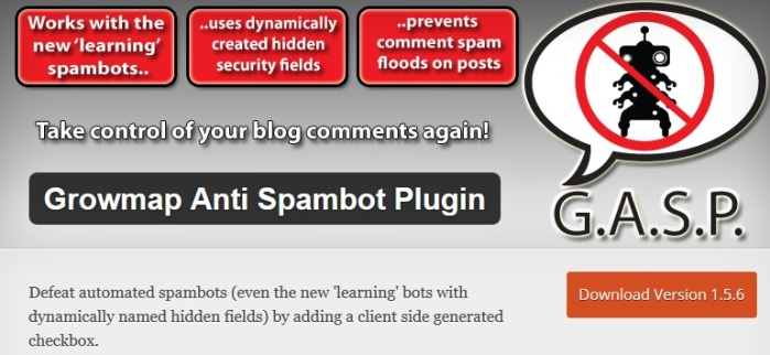 Growmap-Anti-Spambot-Plugin
