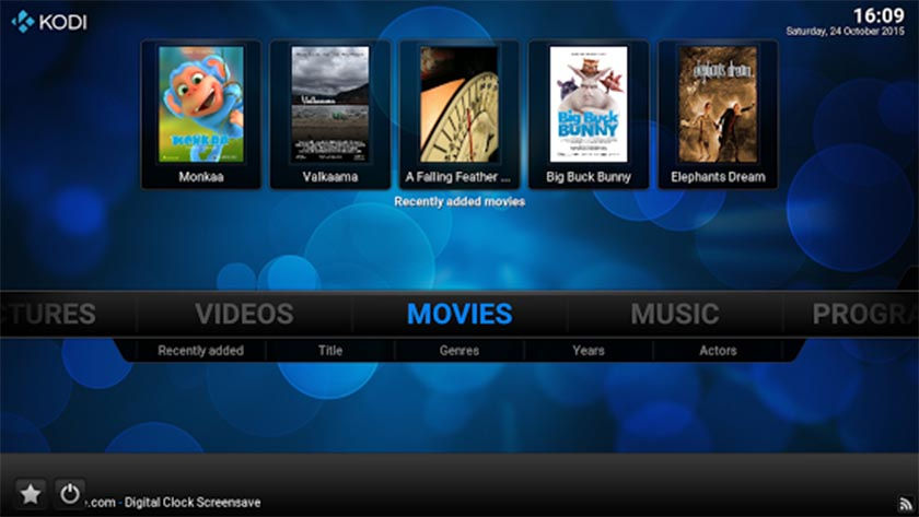 Kodi-XBMC-screenshot