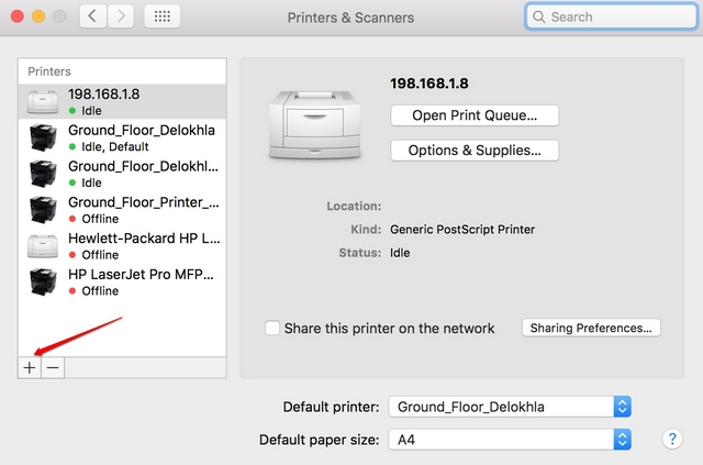 Mac-add-printer
