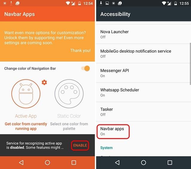 Navbar-Accessibility-Permission