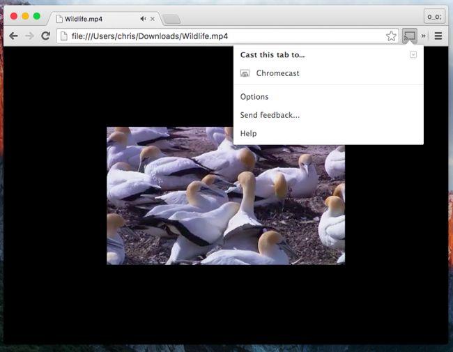 Regarder des fichiers vidéo locale sur votre Chromecast 3