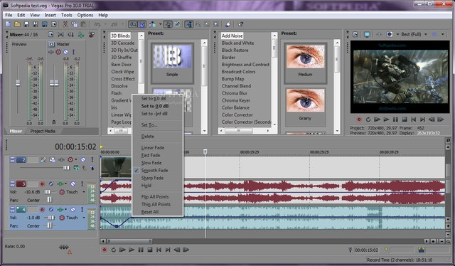 sony vegas pro android