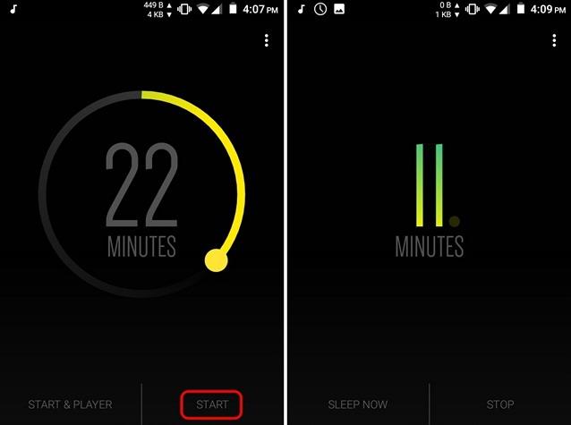 Start-Sleep-Timer-Android