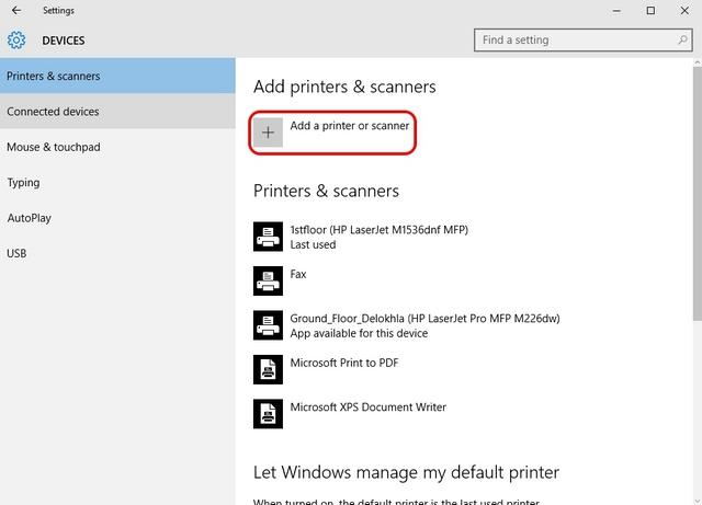 Windows-10-add-printer