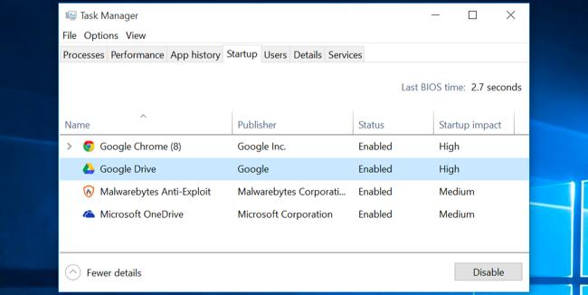 accélérer un PC Windows lent 3