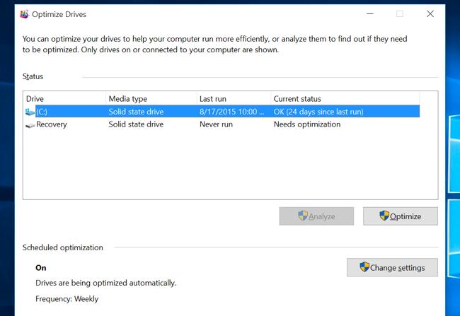 accélérer un PC Windows lent 8